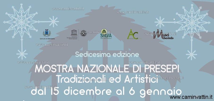 mostra nazionale di presepi tradizionali ed artistici alberobello