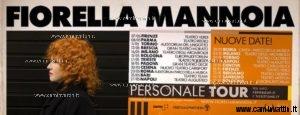 personale tour fiorella mannoia 2019
