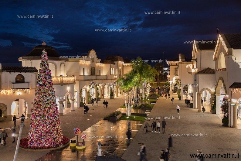 Il Natale del Puglia Outlet Village - Camin Vattin