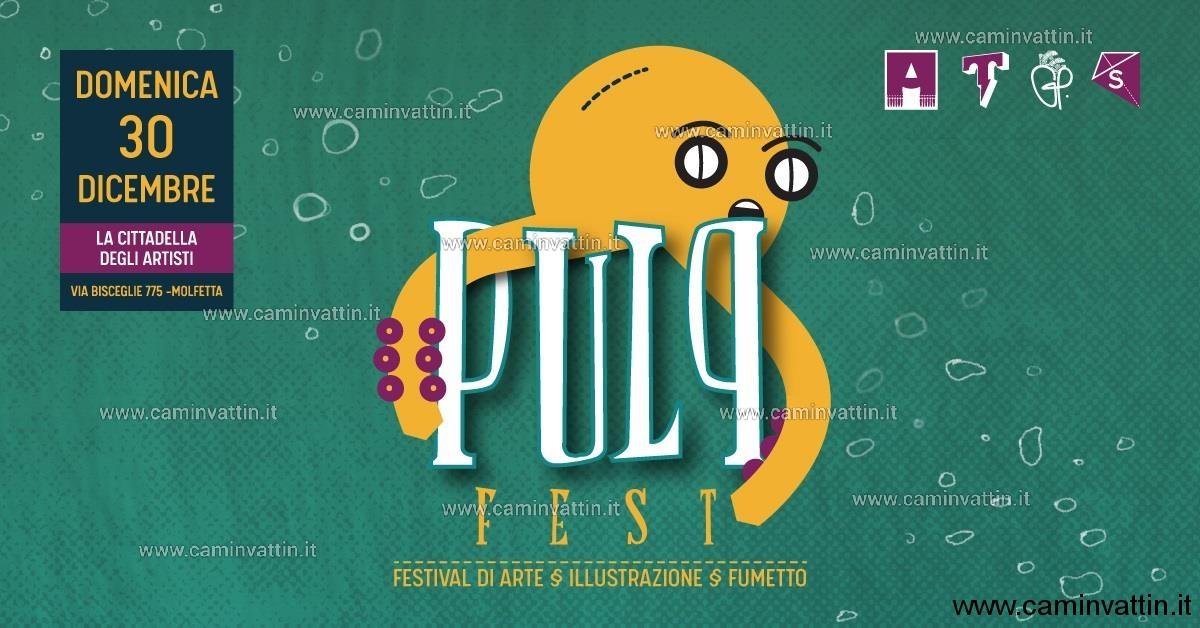 pulp fest festival di arte illustrazione fumetto