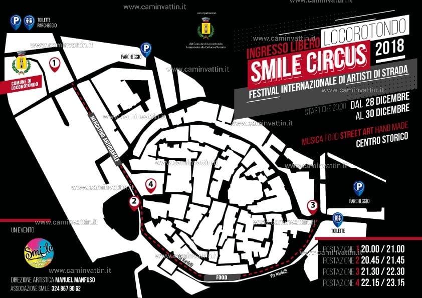 smile circus locorotondo 2018 programma