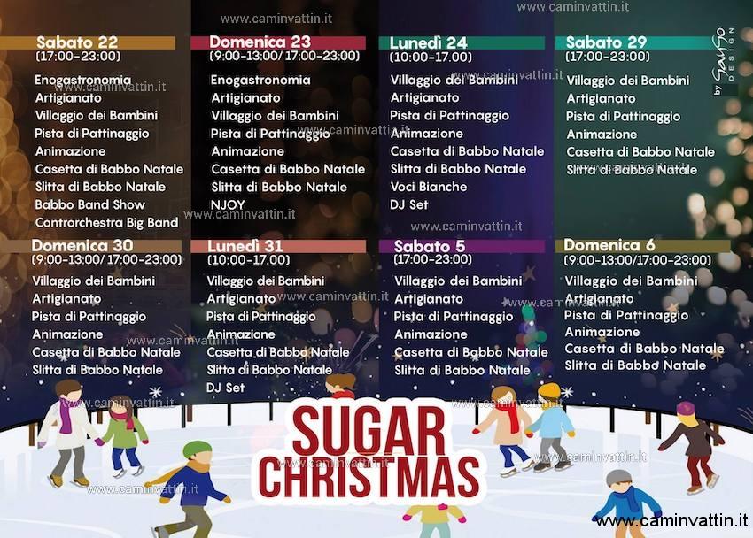 sugar christmas triggiano programma