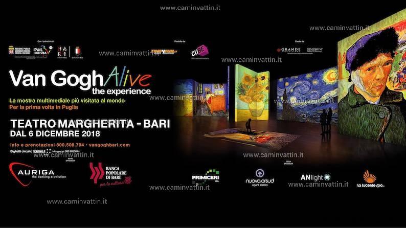 van gogh alive the experience bari teatro margherita
