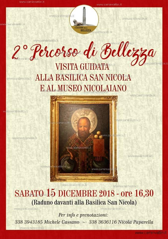 visita guidata alla basilica san nicola e al museo nicolaiano