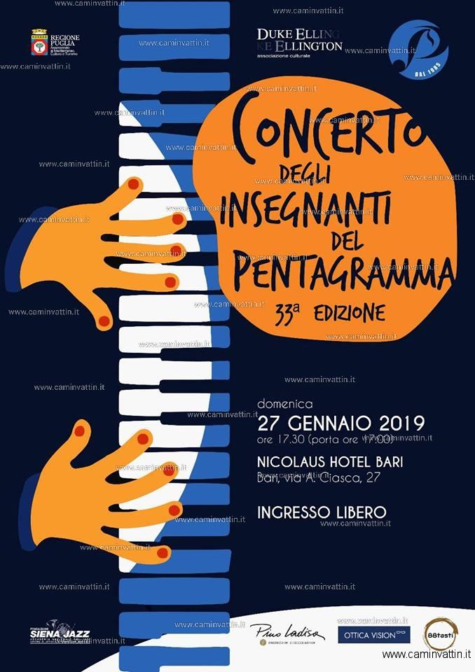 Concerto degli insegnanti del Pentagramma 33 edizione