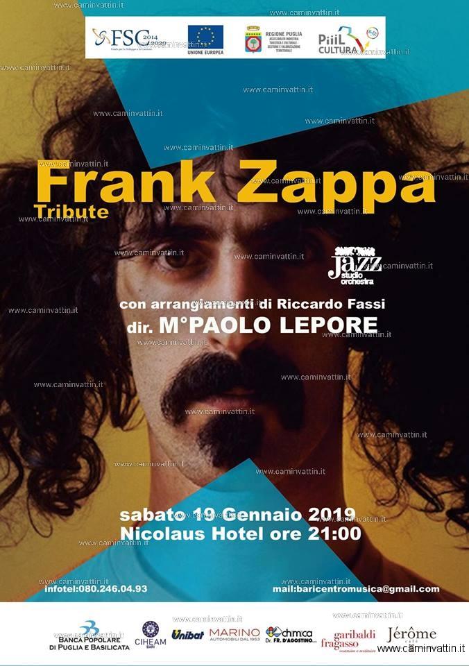 Frank Zappa Tribute con la Jazz Studio Orchestra