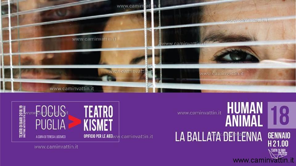 HUMAN ANIMAL di Paola Di Mitri al Teatro Kismet