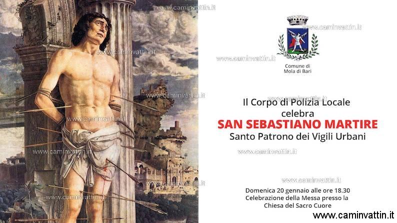 Il Corpo di Polizia Locale celebra San Sebastiano Martire
