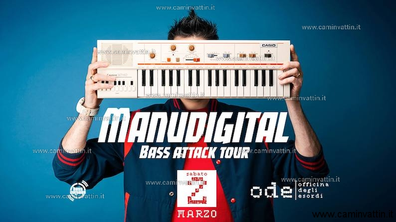 MANUDIGITAL a Bari con il Bass Attack Tour