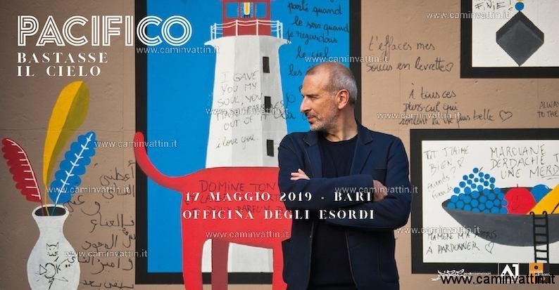 PACIFICO in concerto a Bari Bastasse il cielo Tour