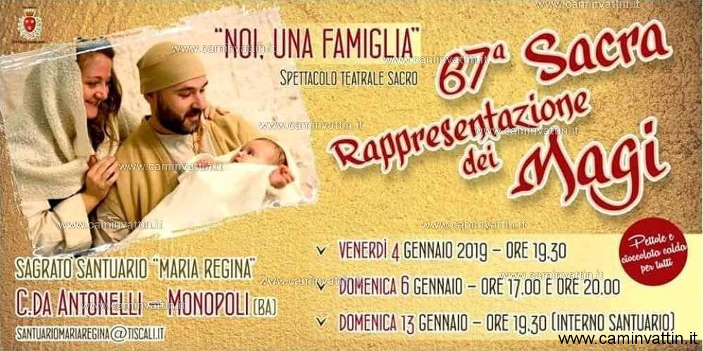 Sacra Rappresentazione dei Magi nel Santuario Maria Regina di Antonelli a Monopoli 67 edizione