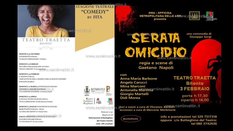 Serata Omicidio Giuseppe Sorgi Teatro Traetta
