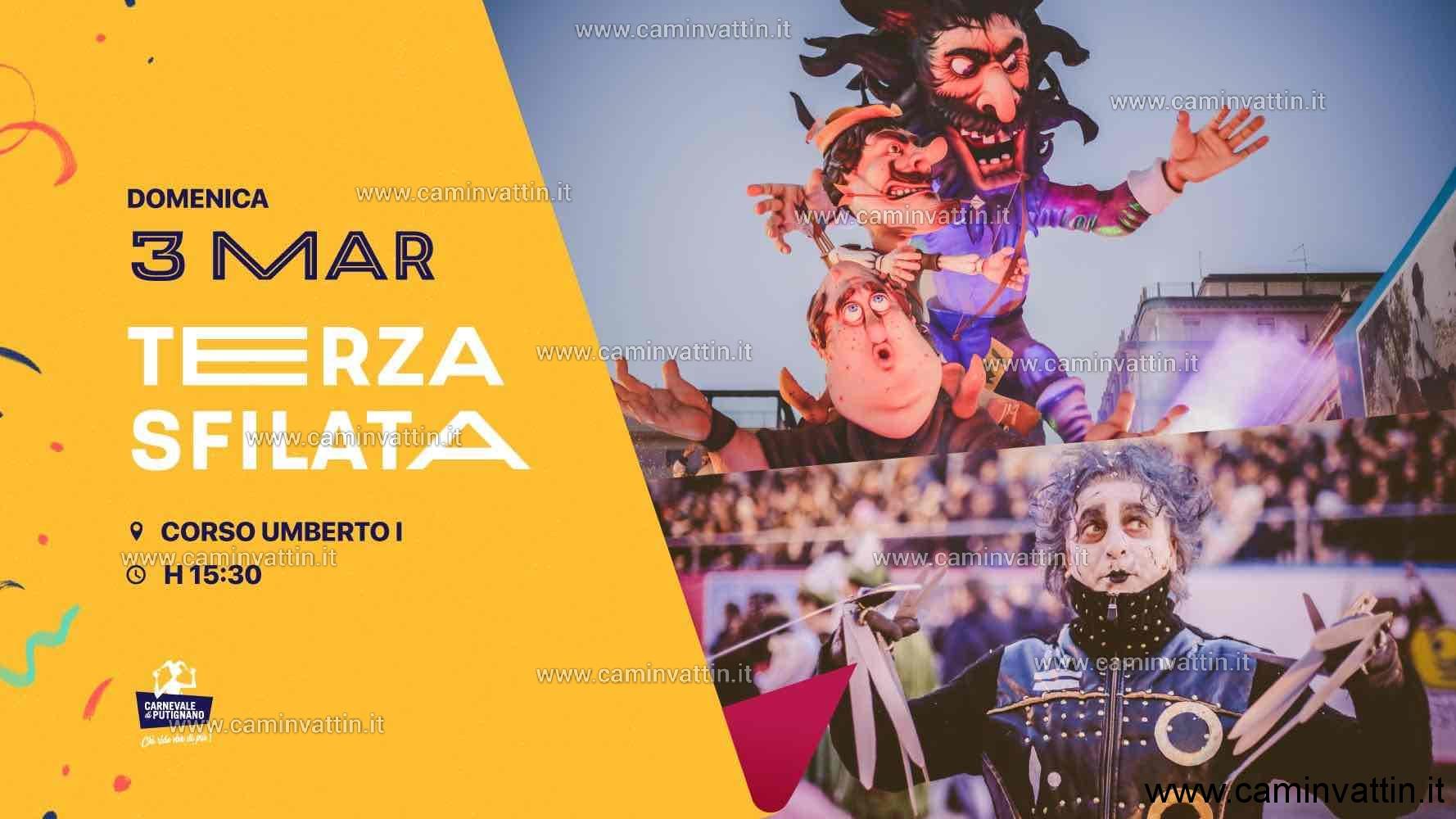 Terza sfilata del Carnevale di Putignano 2019
