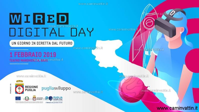 Wired Digital Day 2019 bari Teatro Margherita