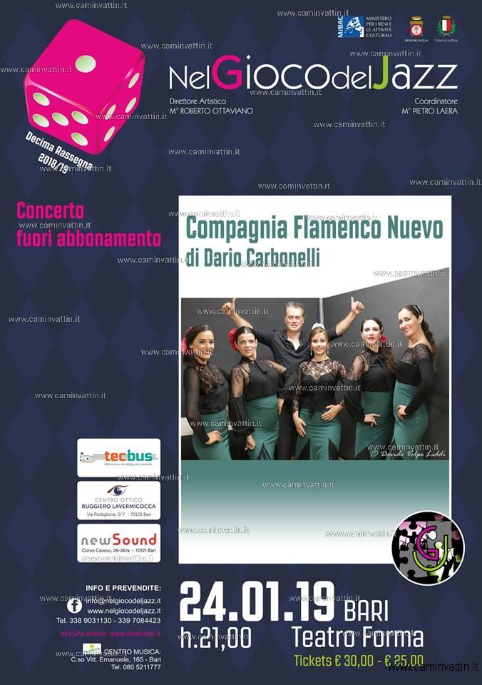 compagnia flamenco nuevo teatro forma