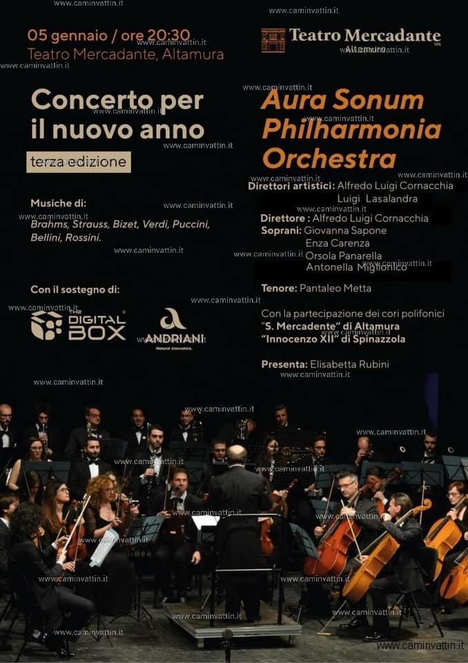 concerto per il nuovo anno altamura aura sonum philharmonia orchestra