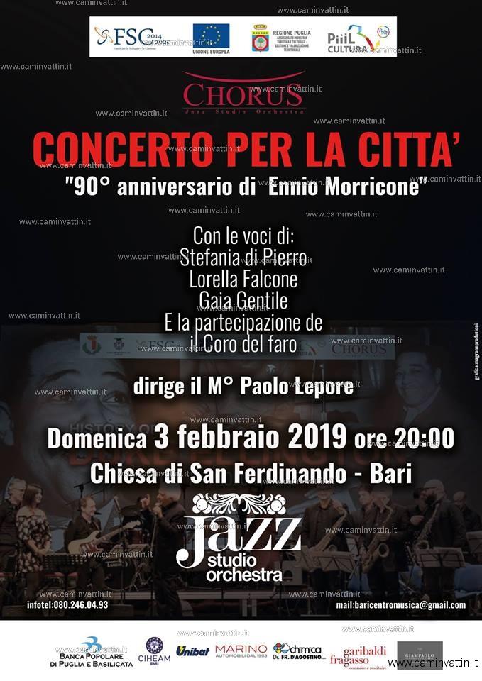 CONCERTO PER LA CITTA 90 anniversario Ennio Morricone