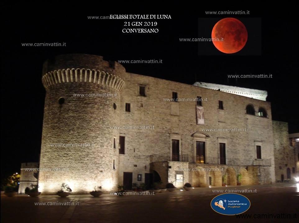 eclissi di Luna a Conversano