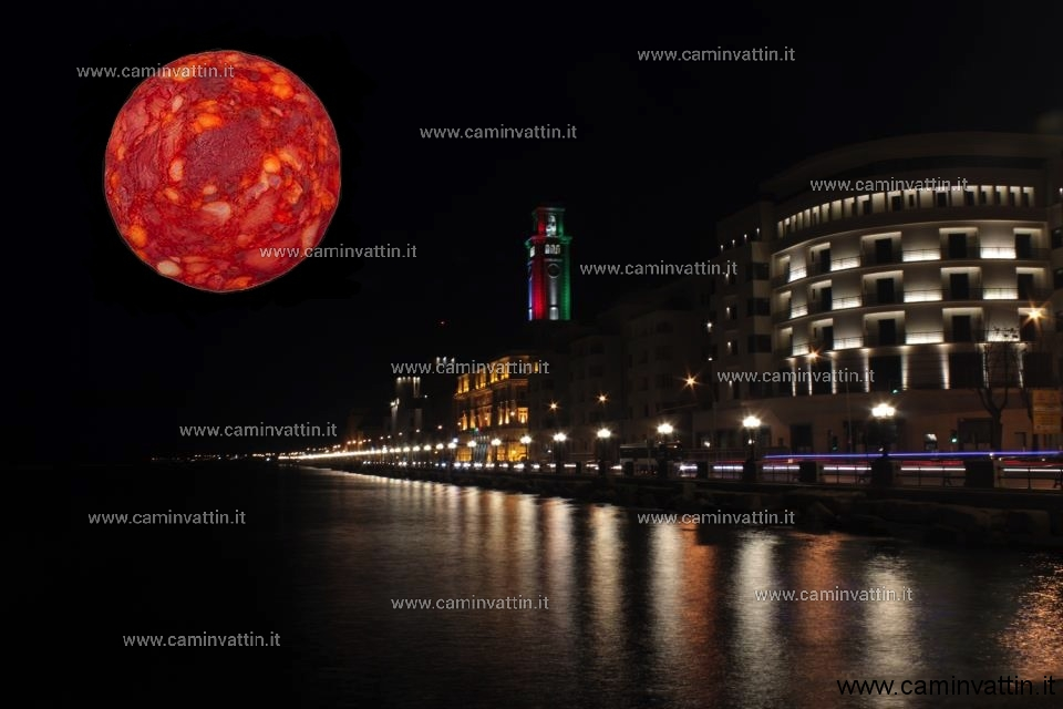 eclissi di luna a bari