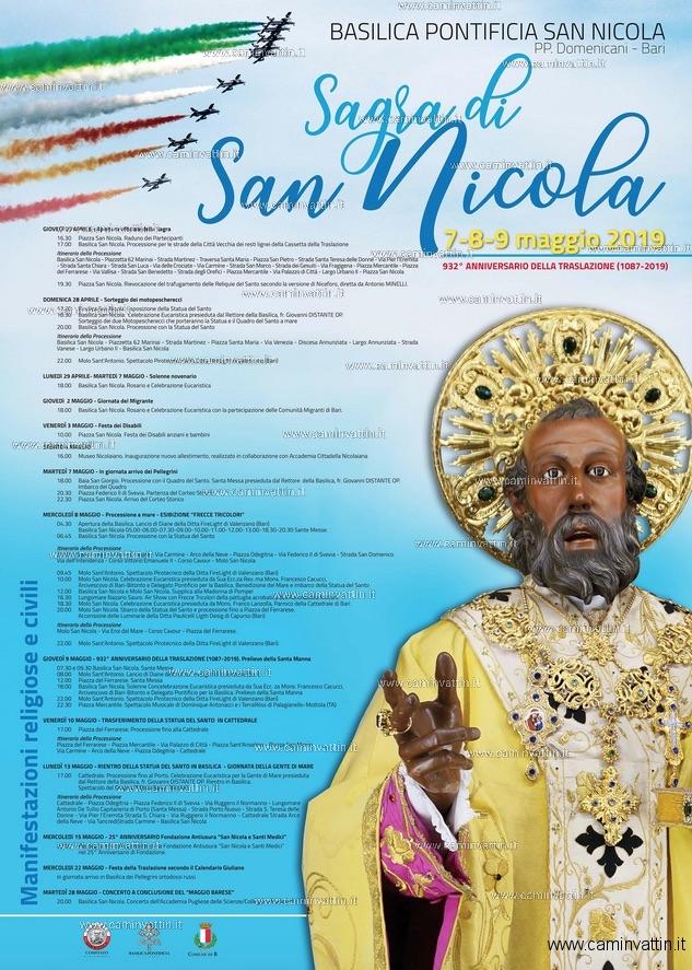 festa san nicola 2019 programma