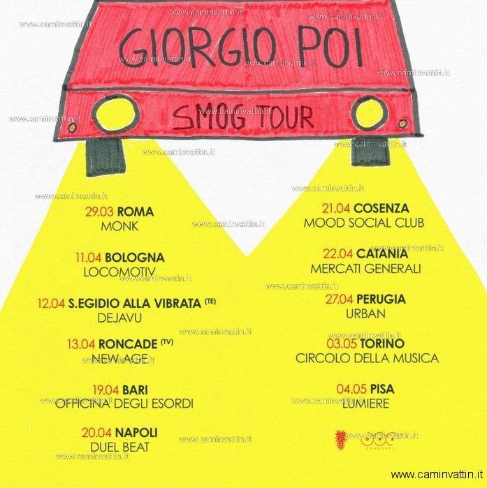 giorgio poi smog  GIORGIO POI in concerto a Bari -