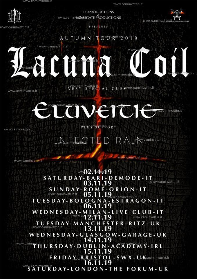 lacuna coil live tour 2019