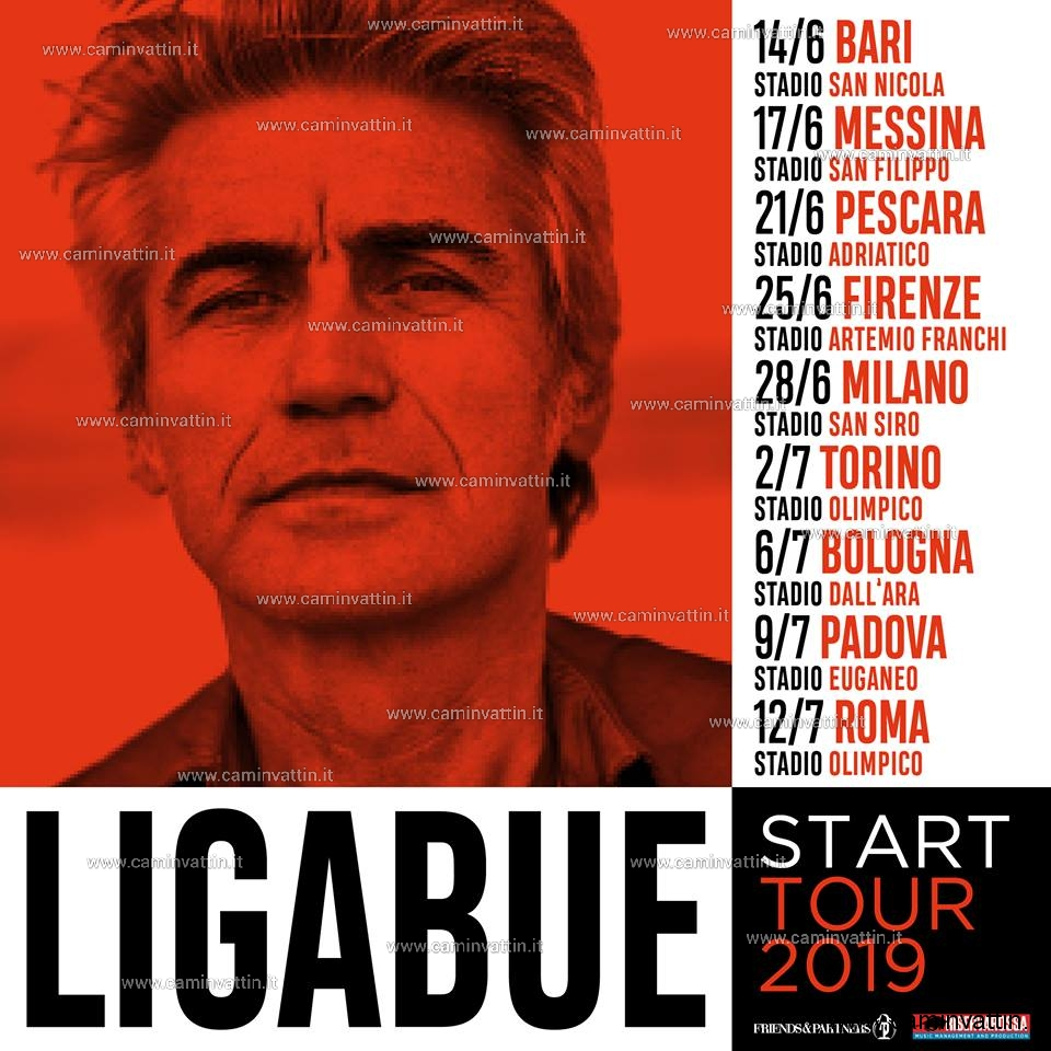 luciano ligabue start tour 2019