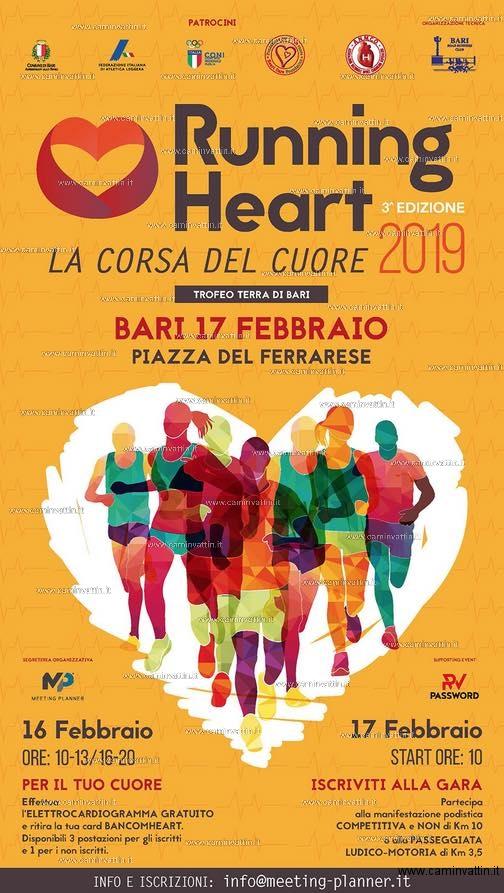 running heart bari 2019