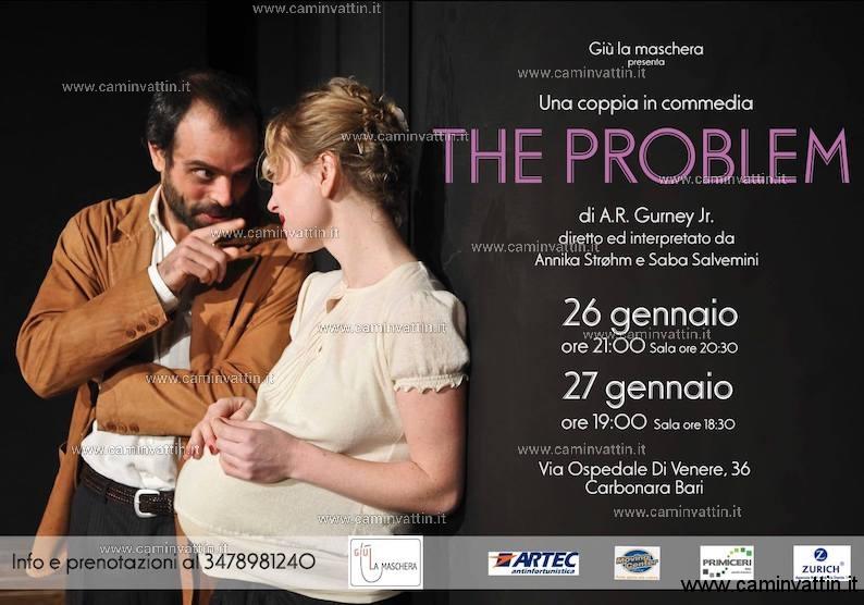 the problem teatro giu la maschera