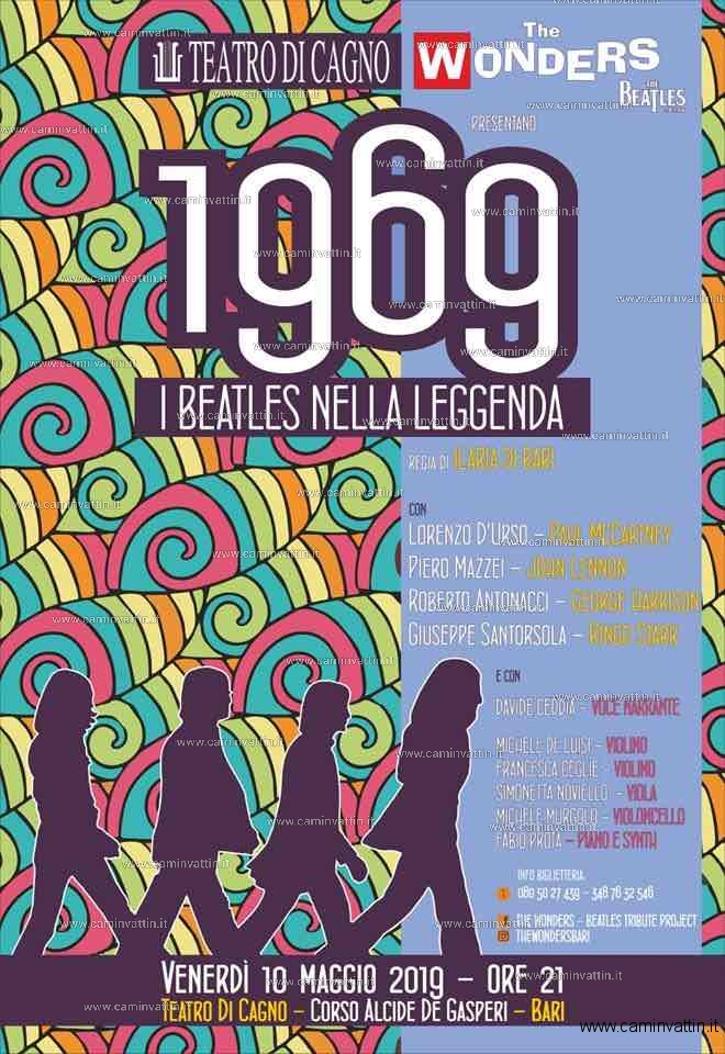 1969 beatles nella leggenda teatro di cagno