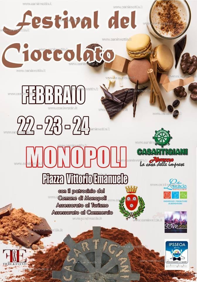 FESTIVAL DEL CIOCCOLATO MONOPOLI 2019