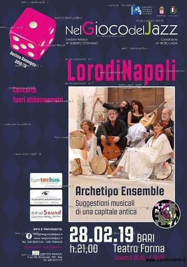 LORODINAPOLI ARCHETIPO ENSEMBLE teatro forma