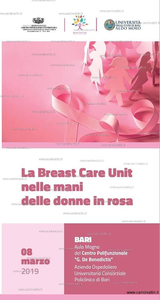 La Breast Care Unit nelle Mani delle Donne in Rosa