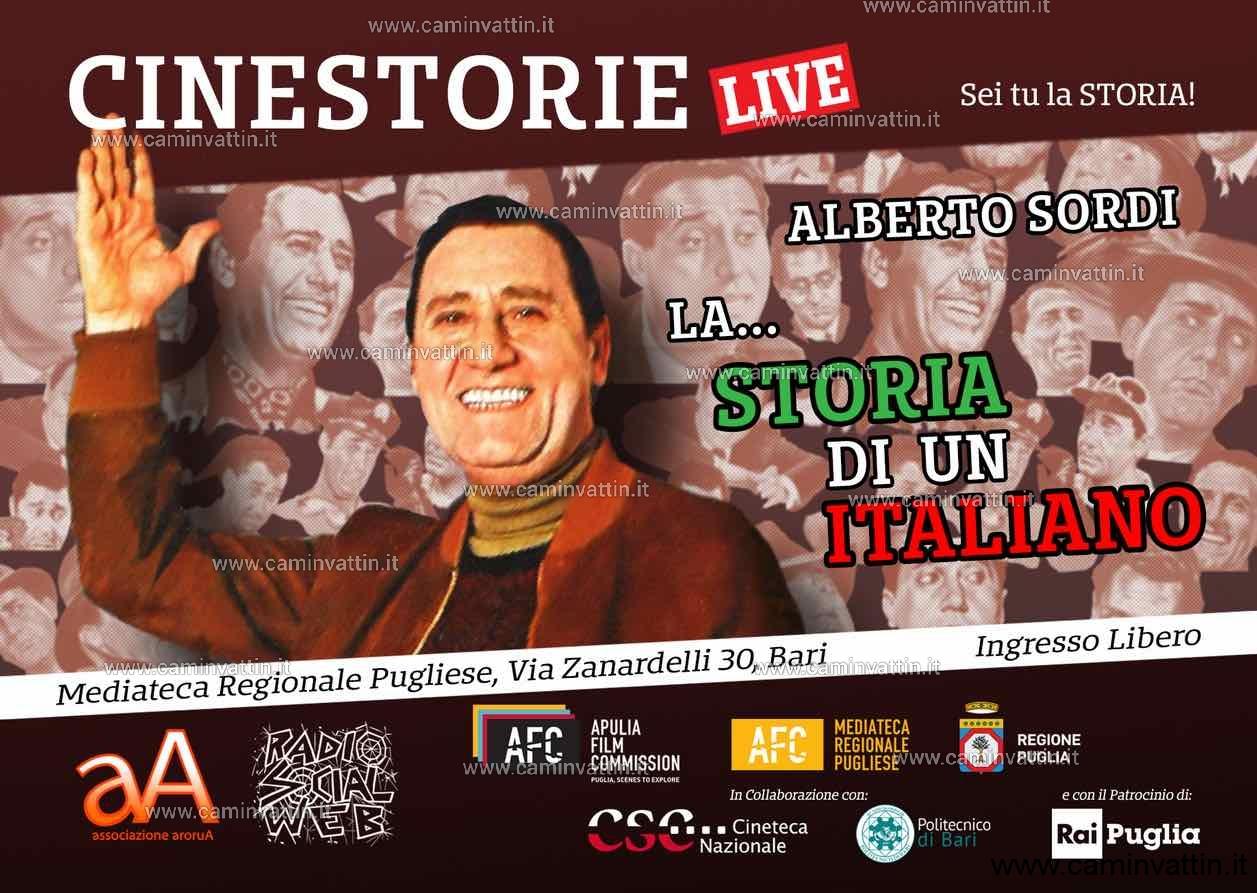 La Storia di un Italiano Alberto Sordi Cinestorie live