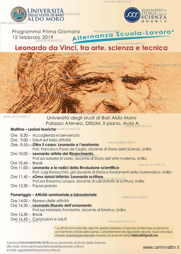 Leonardo da Vinci tra arte scienza e tecnica