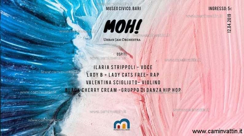 MOH Urban Jam Orchestra Museo Civico Bari