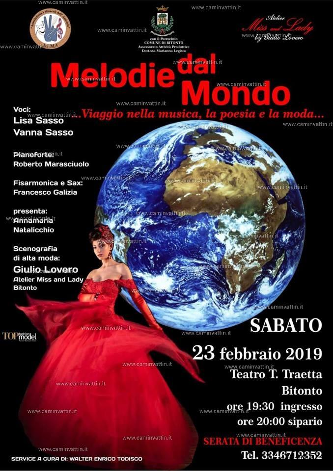 Melodie dal mondo Bitonto Teatro Traetta