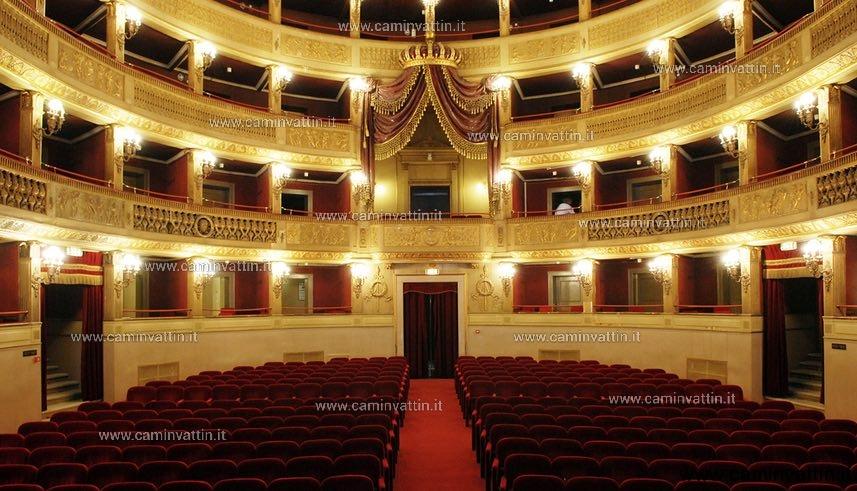 Teatro Piccinni interno