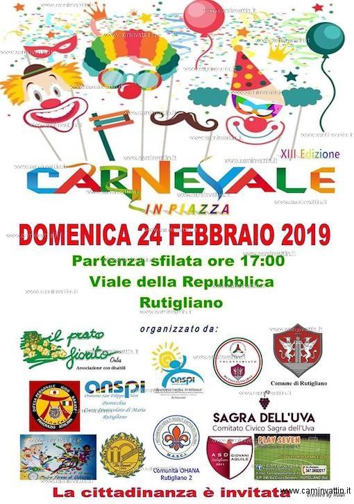 carnevale rutigliano 2019