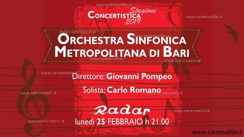 giovanni pompeo carlo romano orchestra sinfonica metropolitana bari