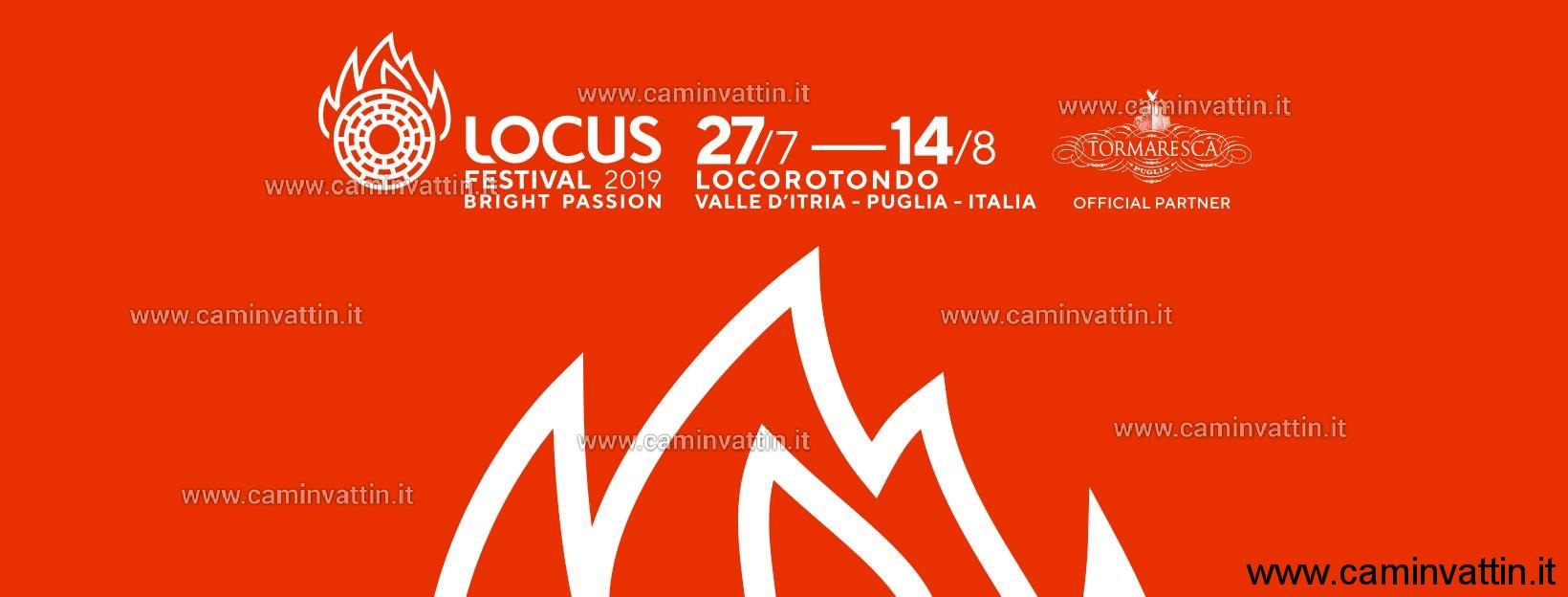 Calendario Eventi Ostuni 2020.Locus Festival 2019 Il Programma Completo Della Xvª