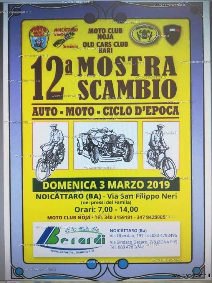 mostra scambio auto moto ciclo epoca 2019 noicattaro