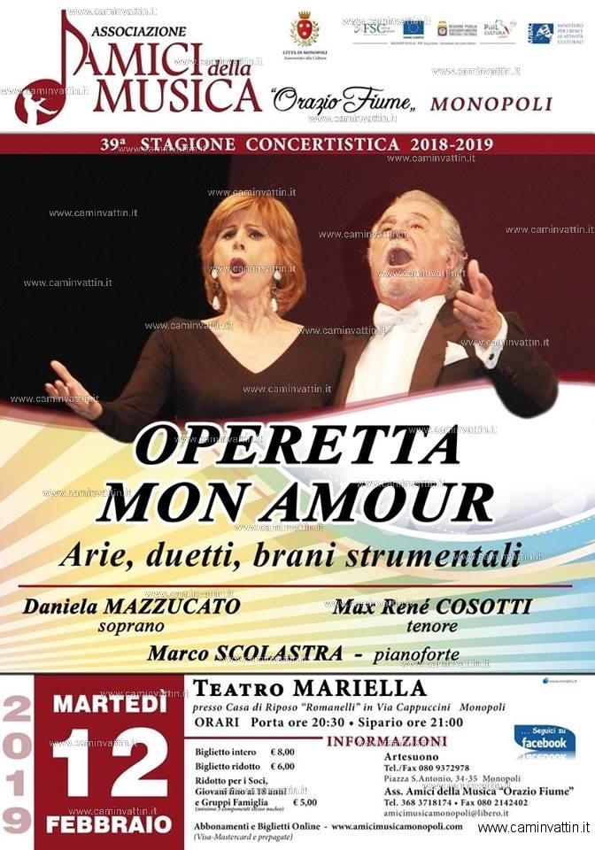 operetta mon amour teatro mariella