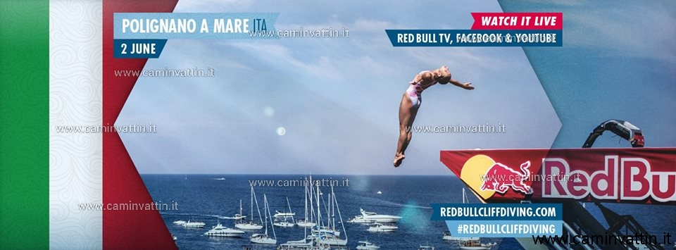 red bull cliff diving 2019 polignano a mare