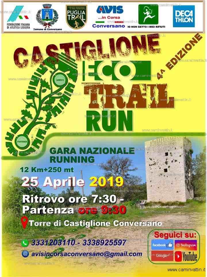 Castiglione Eco Trail Run 2019