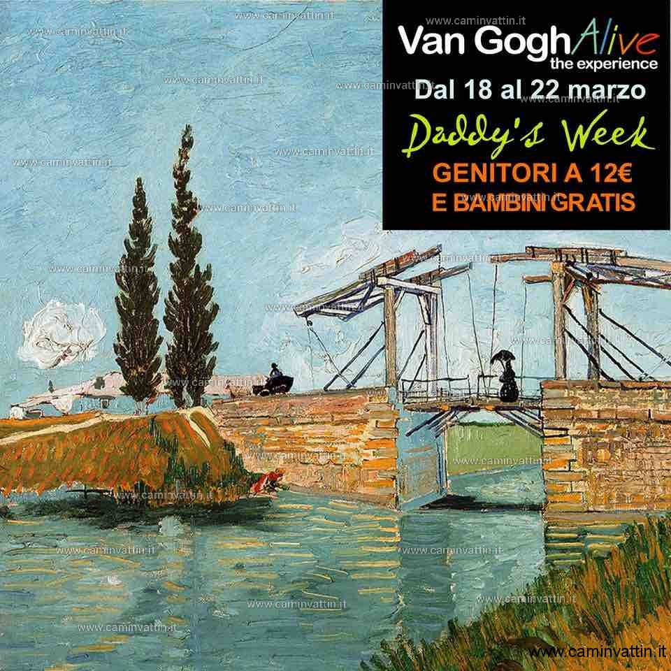 Daddys Week mostra Van Gogh Alive The Experience