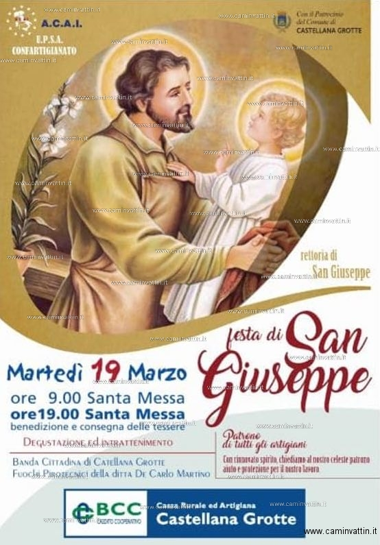 Festa di San Giuseppe a Castellana Grotte