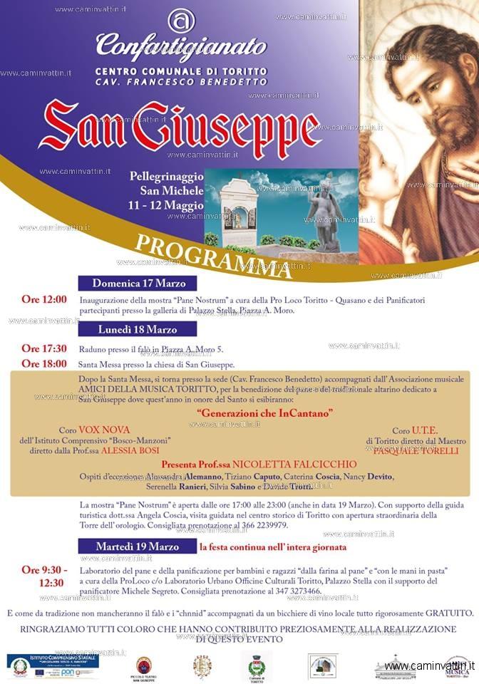 Festa di San Giuseppe a Toritto