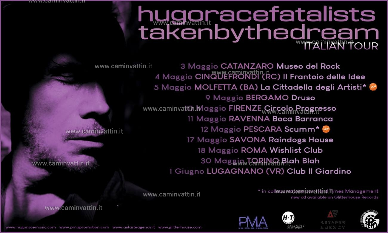 HUGO RACE FATALISTS live molfetta