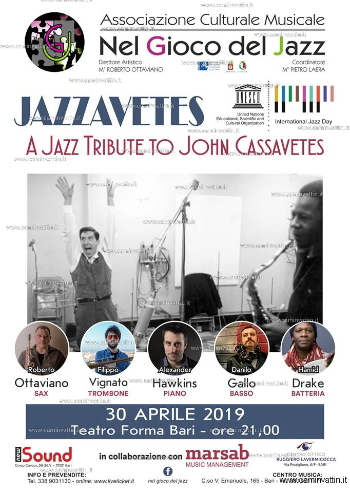 JAZZAVETES a Jazz Tribute to John Cassavetes